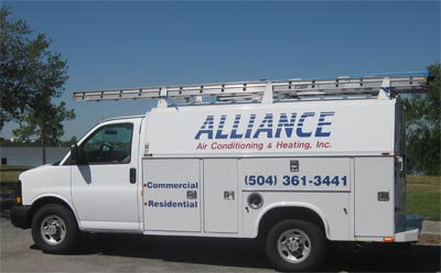 Alliance A/C & Heating inc. Service